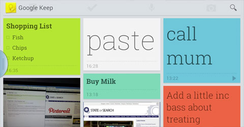 Google Keep Handy Scrapbook Or Evernote Contender State Of Digital