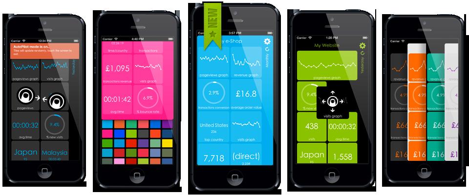 Analytics Tiles iPhone App