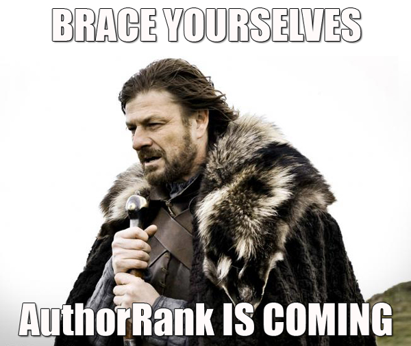 AuthorRank is coming