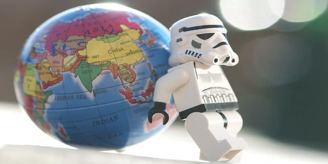 International SEO Lego Man