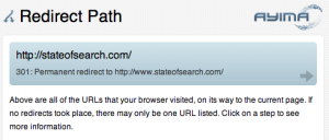 ayima redirect path chrome plugin