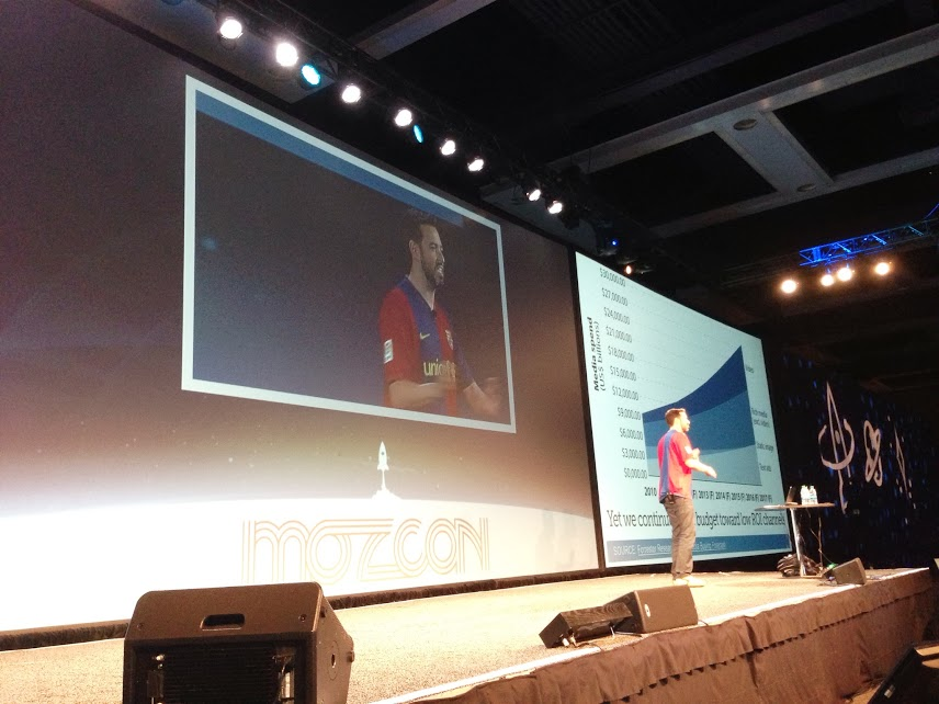 Rand at MozCon