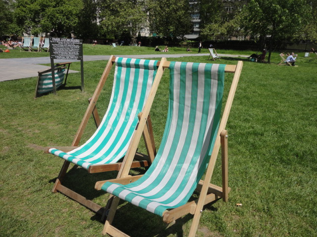 Green Park deck chairs