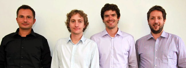 Kaspar Szymanski, Ariel Lambrecht, Jonas Weber and Fili Wiese.