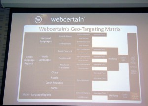 Webcertain matrix