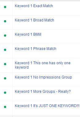just-1-keyword