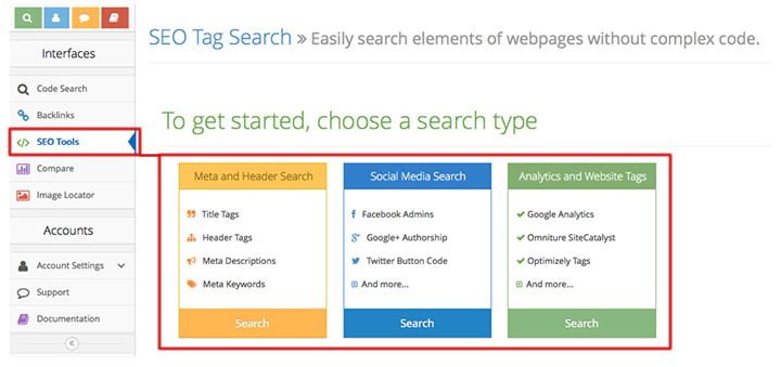 Nerdy Data: SEO Tools