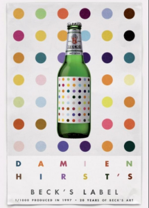 Damien Hirst for Becks