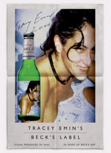 Tracey Emin for Becks