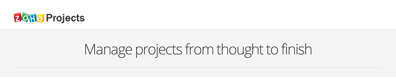 Zoho - Project Management Tool