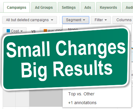 Top 5 must have's on a small PPC budget