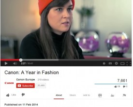 Cannon A Year in Fashion