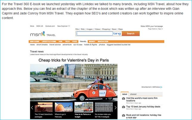 How MSN Travel handles its Content Marketing - Bas Van Den Beld