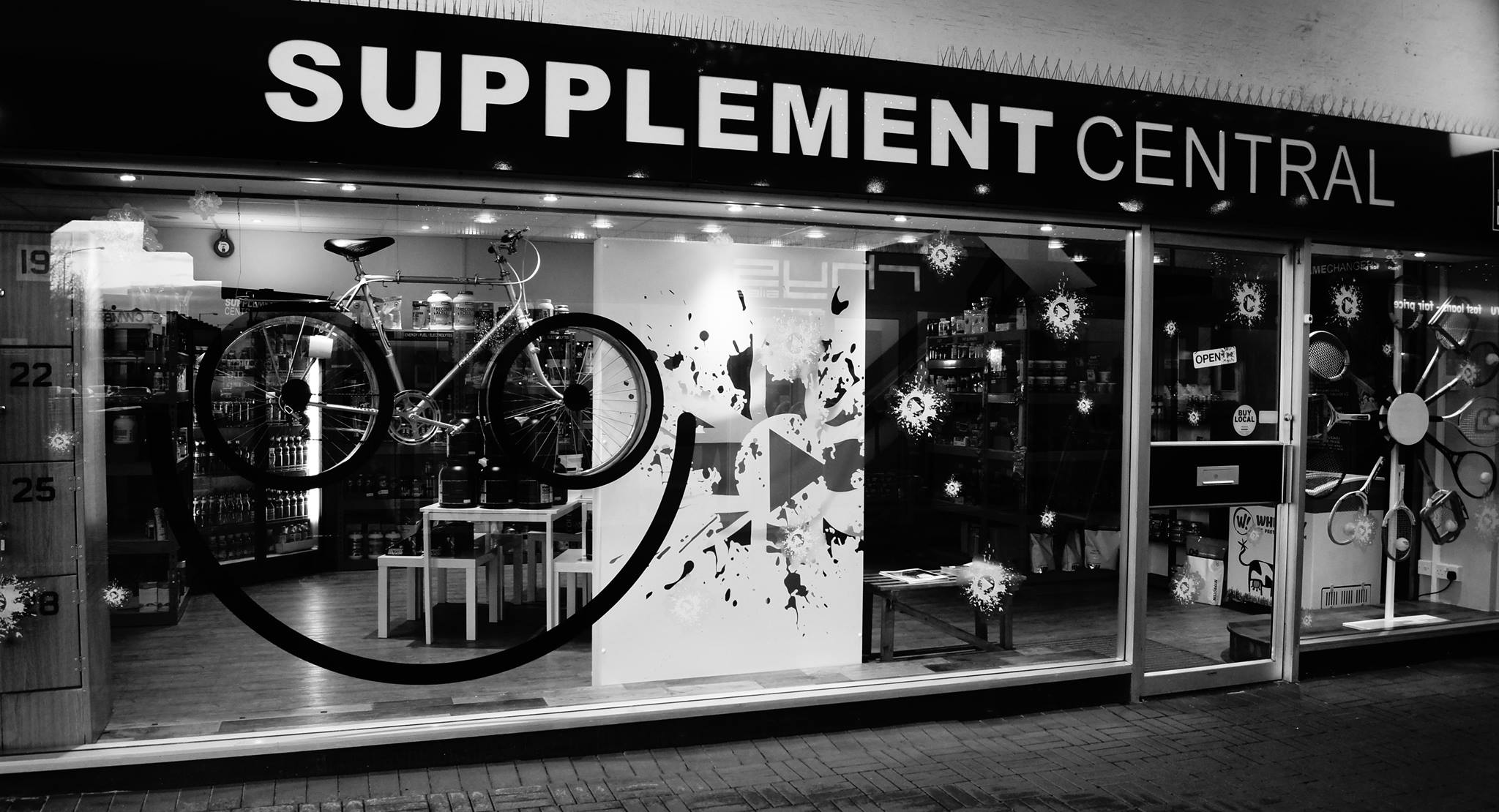 supplement central shop front case study