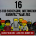Tips for International Business Travelers