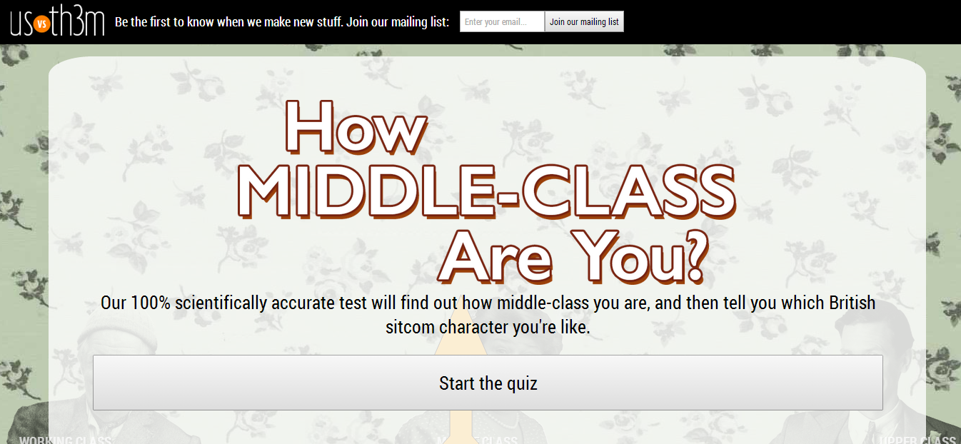 How Middle Class are You