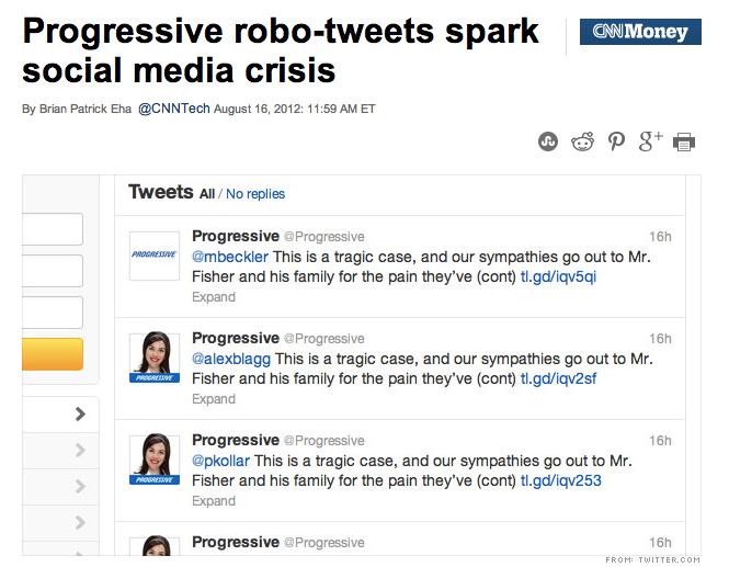 Progressive-robo-tweets