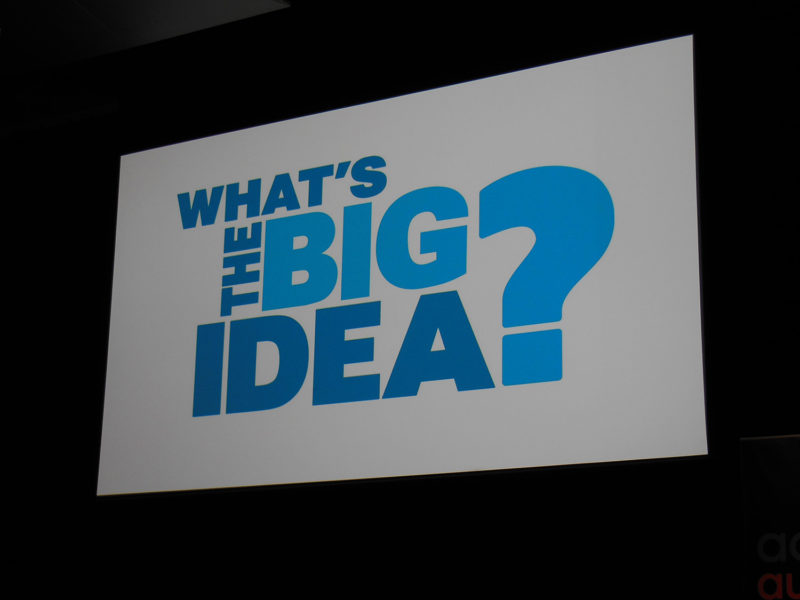 Whats the Big Idea AdTech