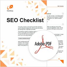 WebMeUp SEO Checklist