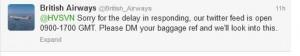 British_Airways_Tweet_Business_Hours_Excuse