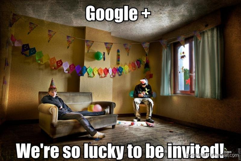 Google+ empty
