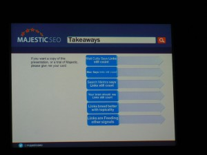 Takeaways MajesticSEO