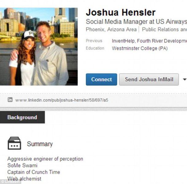 Joshua Hensler LinkedIn