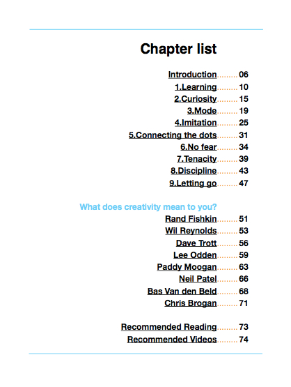creativity-ebook-contents