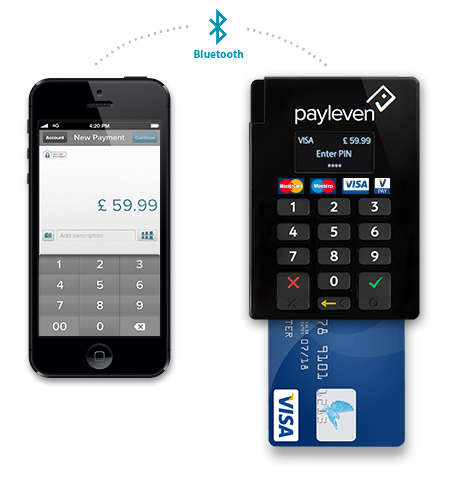 payleven bluetooth card reader