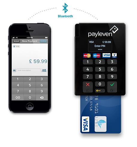 payleven bluetooth card reader