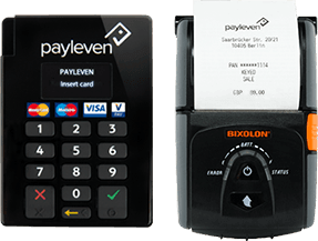 payleven chip and pin and mobile printer