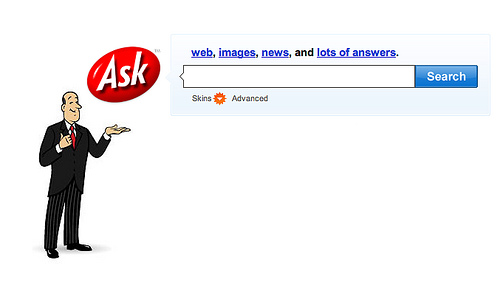 ask jeeves old school