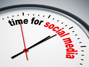 social media time management