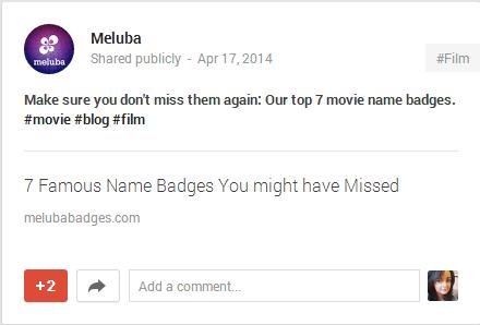 meluba google+ post