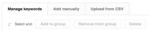 Positionly Keyword Upload