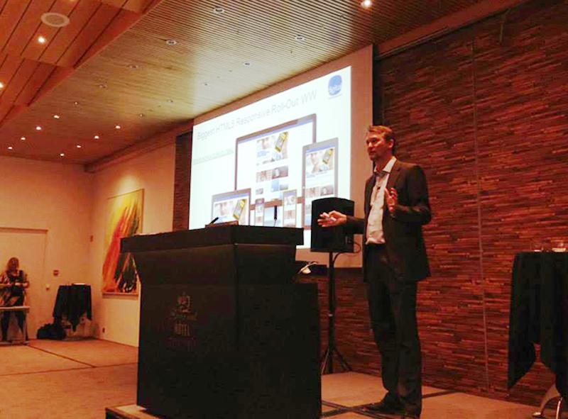 Live Presentation in Iceland