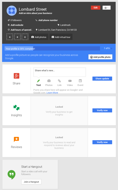 Dashboard-Google-business