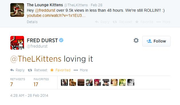 The Lounge Kittens Fred Durst