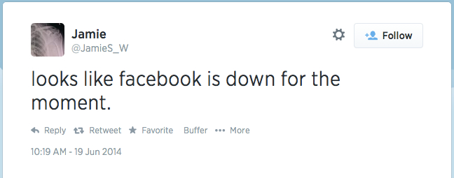 fb-down-not-aware-of-rest-of-world
