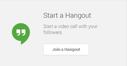 my business hangouts