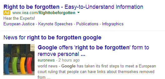 Do You Have the Right To Be Forgotten?