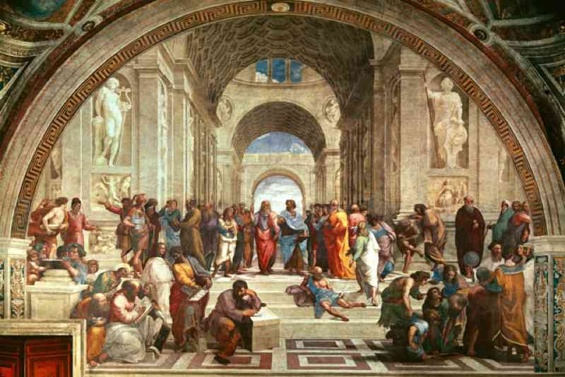 School of Athens Raffaello