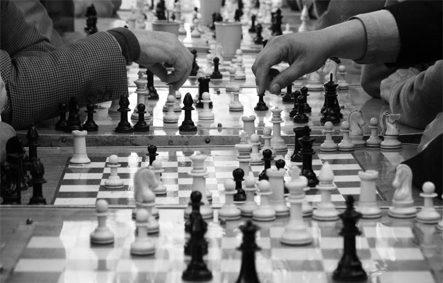 Strategy is like chess: you first need to have your pieces in order before you can begin.