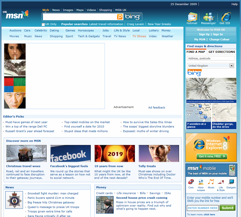 The New and Improved MSN Homepage - State of Digital