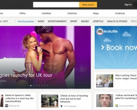 The new MSN homepage and portal