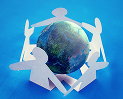 Build relationships with international customers