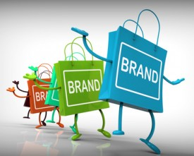Brand Bags Represent Brands, Marketing, and Labels