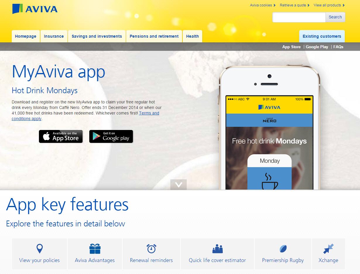 My Aviva App