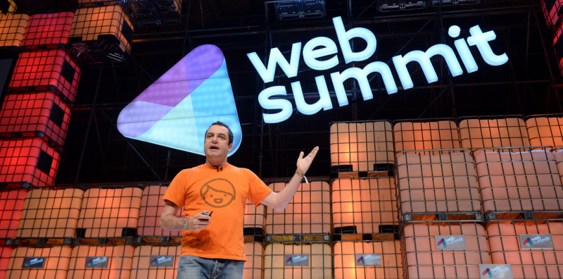 Saul Klein at the 2014 Web Summit