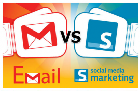Email v Social Media